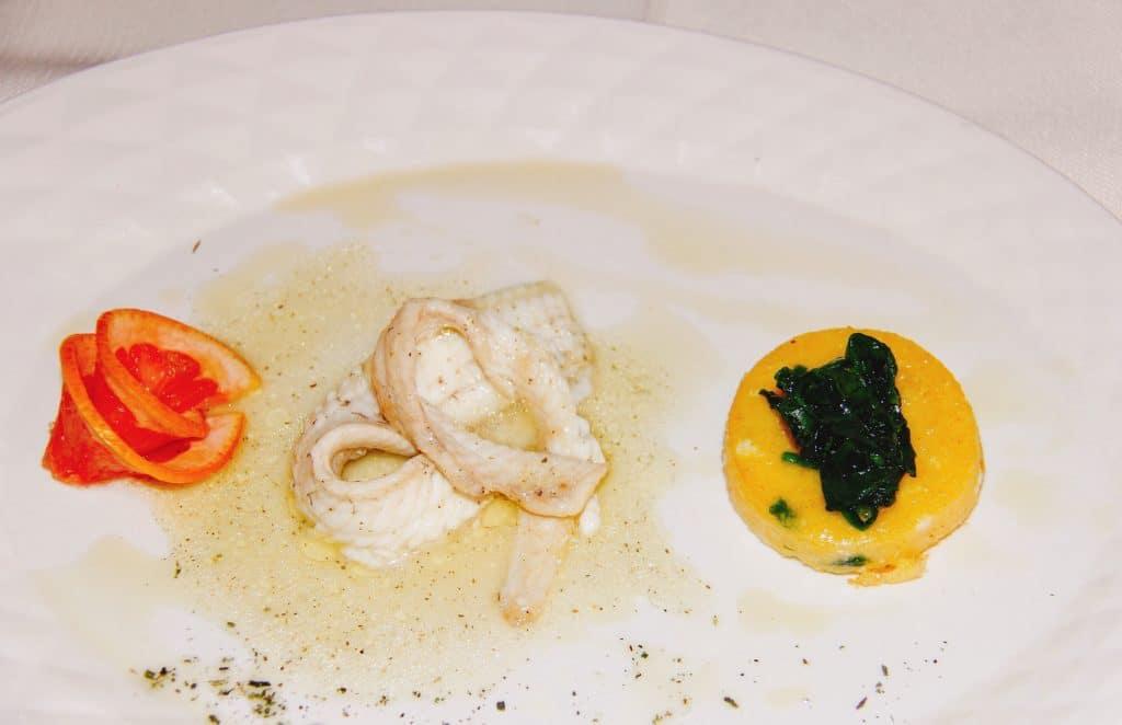 raw fish plate buscina