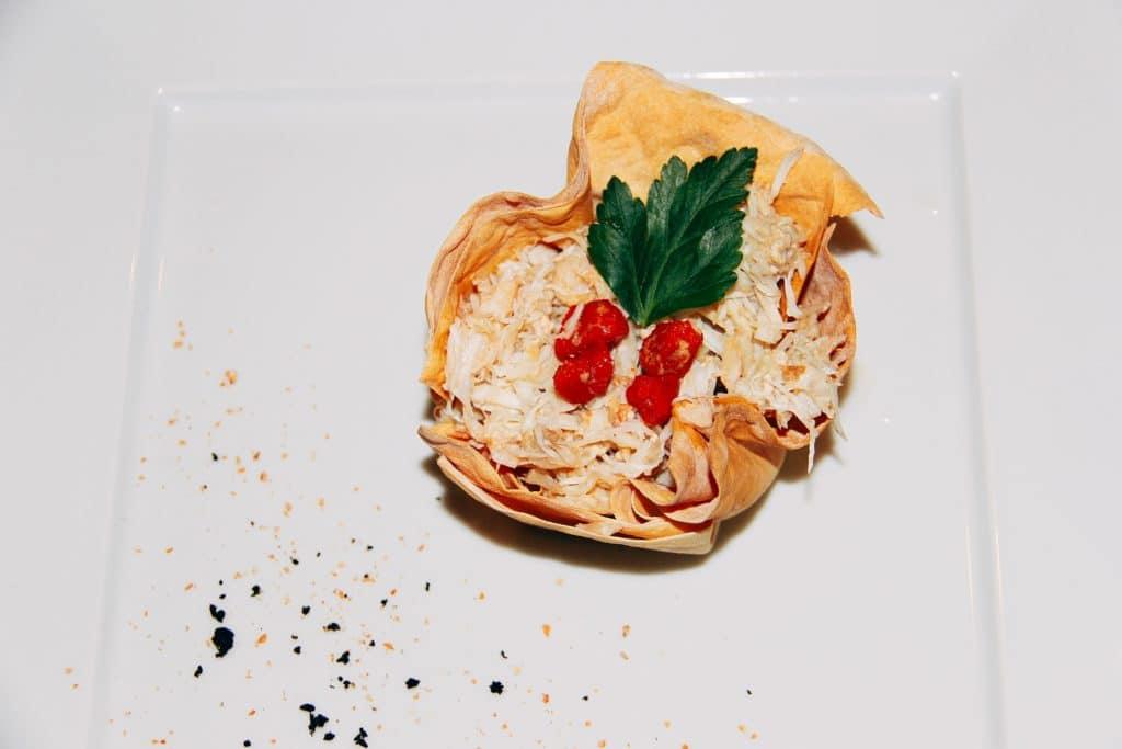Jakovice (scallop) salad