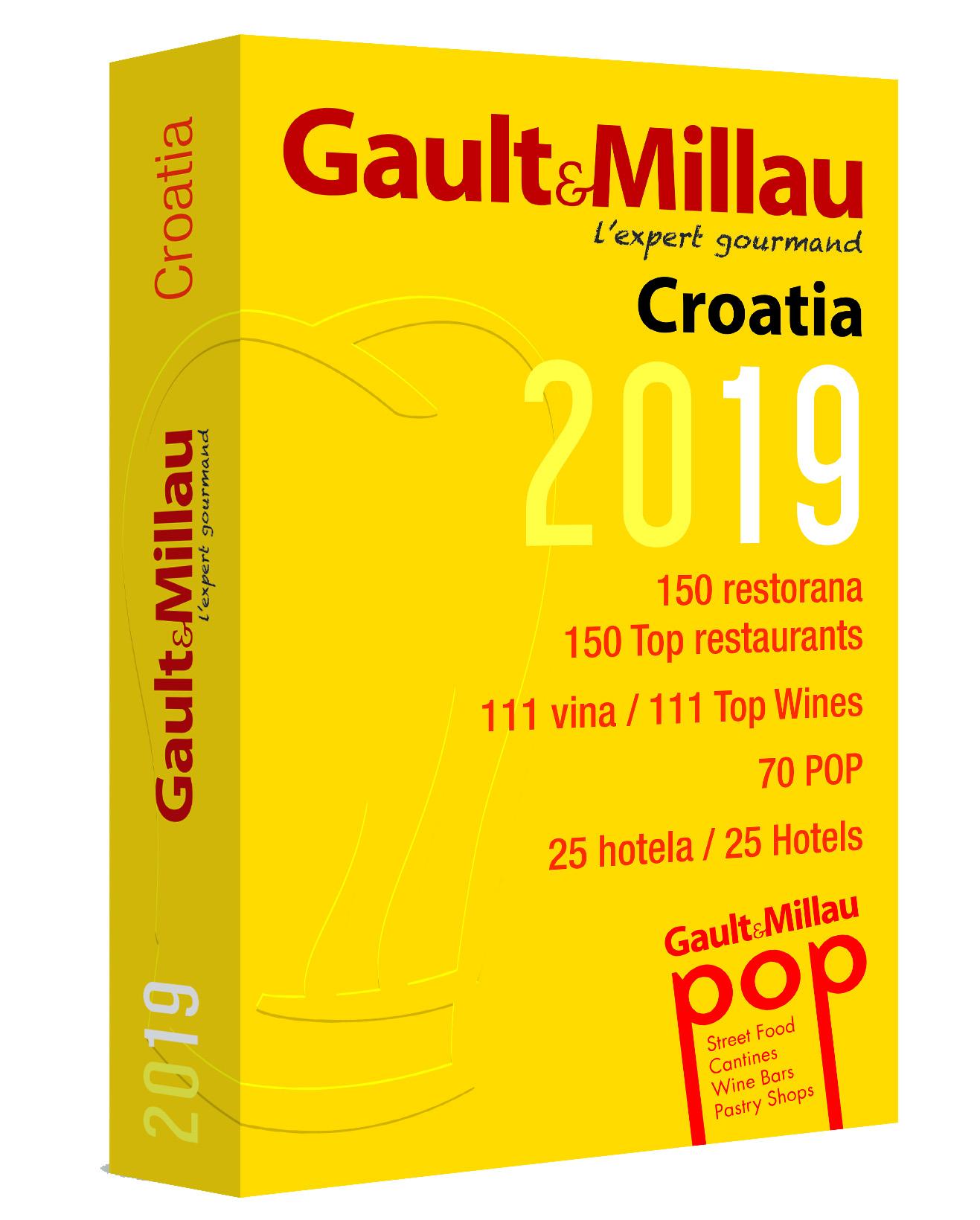 Risultati immagini per Gault&Millau Croatia 2019