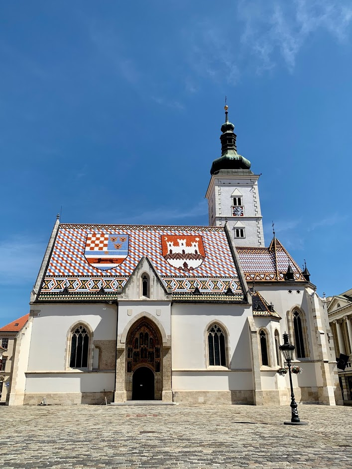 st mark church zagreb